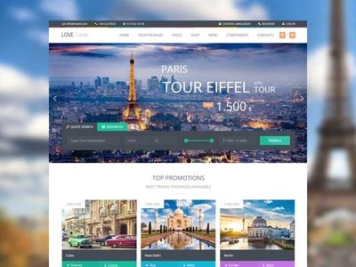 Love Travel Wordpress