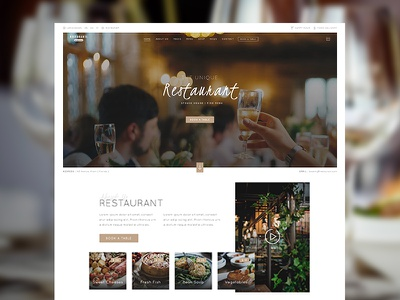 Restaurant WordPress Theme nicdark themes envato themeforest menu restaurant menu restaurant reservation opentable restaurants food restaurant