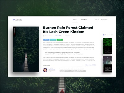 minimal article PAGE