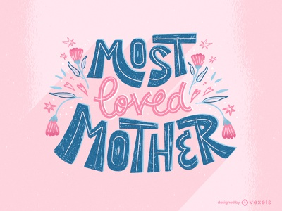 Mother day illustration for Vexels Graphics mothersday mothers design vector illustration