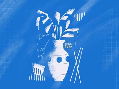 Naturaleza muerta design sketch procreate vector illustration nature illustration nature art nature