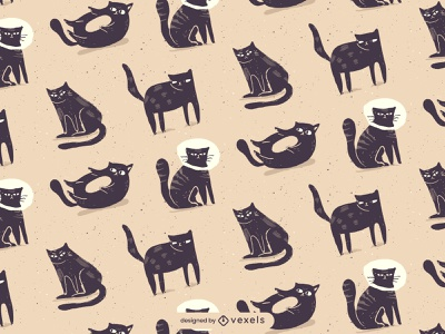 Cat Pattern cute illustrator design vector illustration patterns pattern catpattern cat