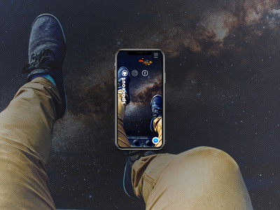 Spaceout Mobile Design Concept brand identity brand webdesign website space mobile ui