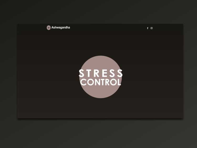 Stress-control.pl gatsby.js javascript html css website ux ui landing page