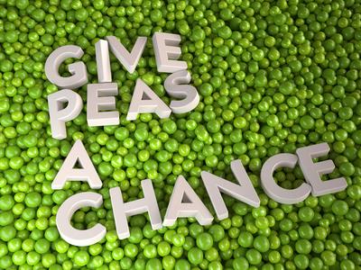 Give Peas a Chance peas 3d cinema4d vray