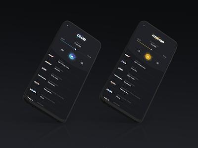 Simple Radio Player music player radio mobile ui uidesign