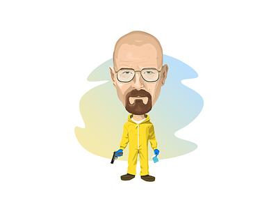 Heisenberg heisenberg design vector artwork walterwhite breakingbad character illustration