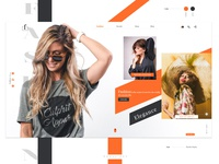 Fashion Website Concept