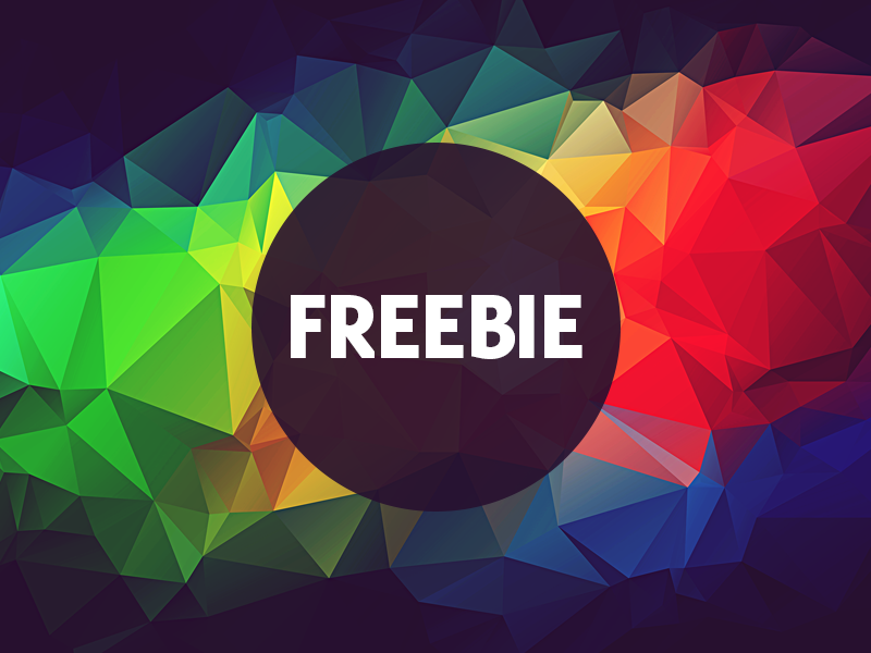 Free Polygonal / Low Poly Background Texture #15 triangle shape geometric abstract texture background flat polygonal poly low freebie free