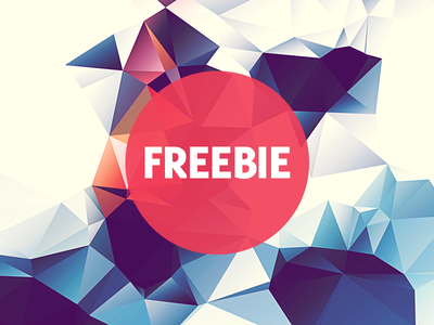 Free Polygonal / Low Poly Background Texture #16 free freebie low poly polygonal flat background texture abstract geometric shape triangle