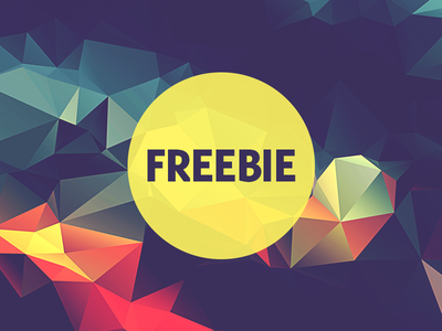 Free Polygonal / Low Poly Background Texture #18
