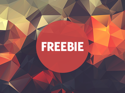 Free Polygonal / Low Poly Background Texture #19 triangle shape geometric abstract texture background flat polygonal poly low freebie free
