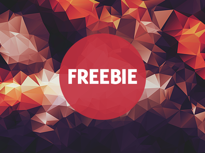 Free Polygonal / Low Poly Background Texture #20 free freebie low poly polygonal flat background texture abstract geometric shape triangle