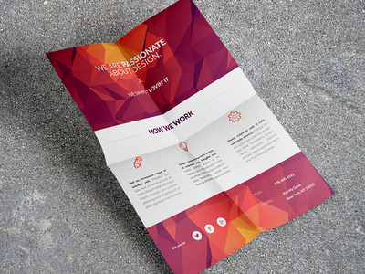 Mobile Application / Phone App flyer #3 minimal iphone print indesign ad icon flat phone smartphone flyer app mobile