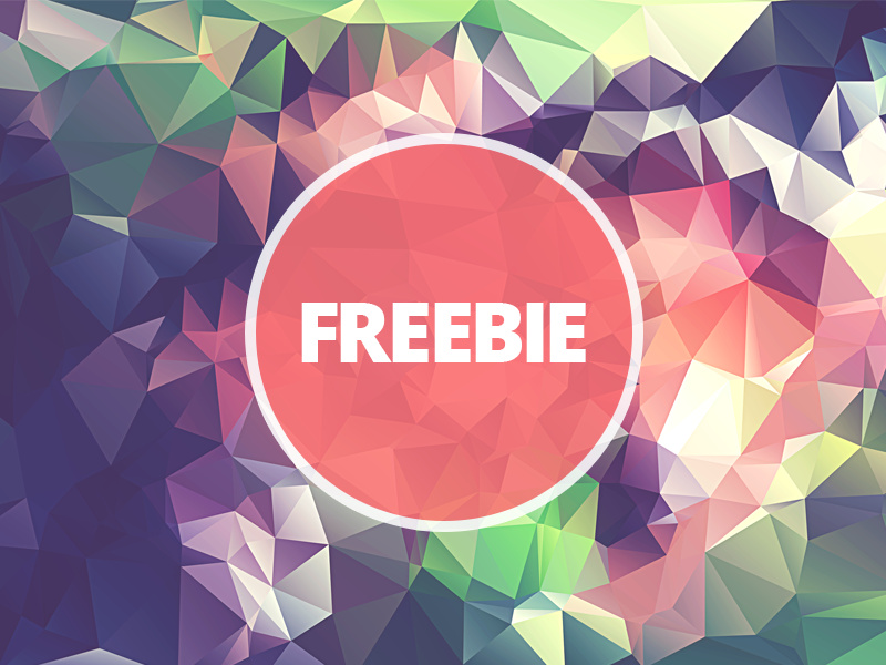 Free Polygonal / Low Poly Background Texture #21 triangle shape geometric abstract texture background flat polygonal poly low freebie free