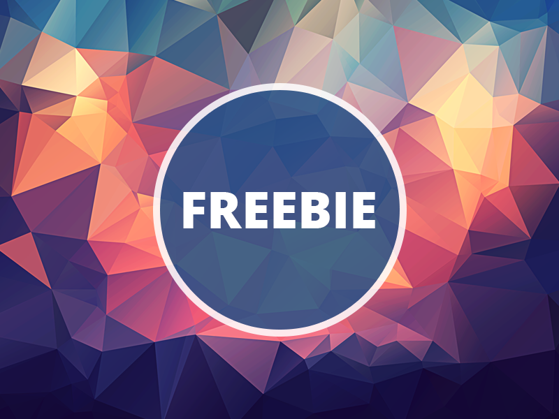 Free Polygonal / Low Poly Background Texture #25 triangle shape geometric abstract texture background flat polygonal poly low freebie free