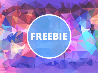 Free Polygonal / Low Poly Background Texture #27 triangle shape geometric abstract texture background flat polygonal poly low freebie free