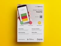 Sneak peek of upcoming app flyer