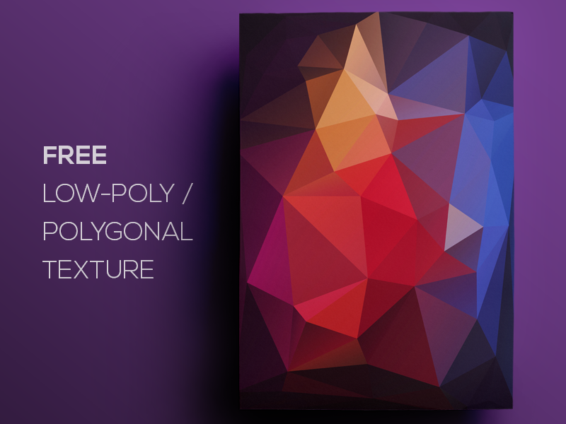 Free Polygonal Low Poly Background Texture 71 Freebie Flat