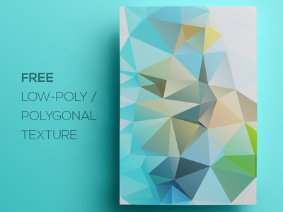 Free Polygonal / Low Poly Background Texture #77 free freebie low poly polygonal flat background texture abstract geometric shape triangle