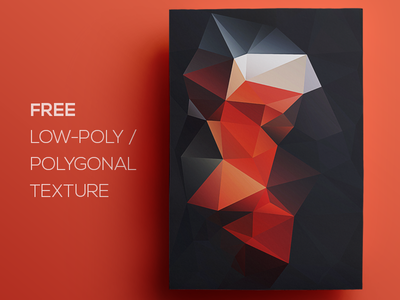 Free Polygonal / Low Poly Background Texture #79 free freebie low poly polygonal flat background texture abstract geometric shape triangle