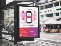 App Poster / Bus Stop Billboard