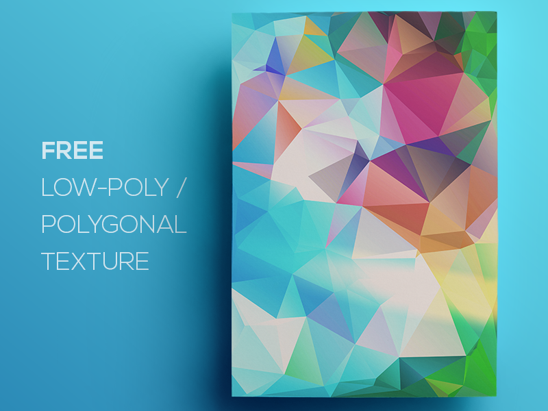 Free Polygonal / Low Poly Background Texture #102