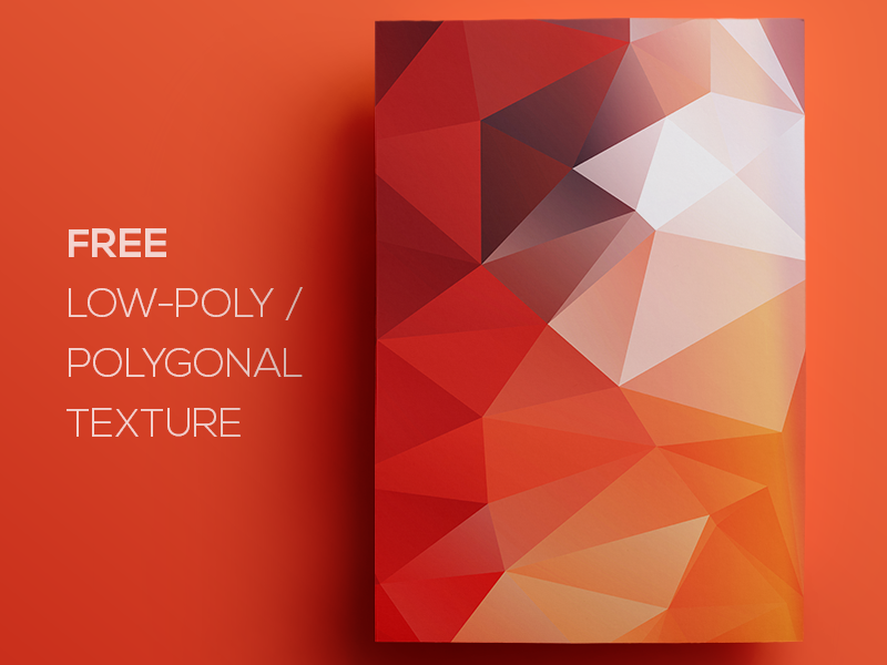 Free Polygonal / Low Poly Background Texture #106