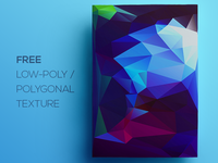 Free Polygonal / Low Poly Background Texture #110