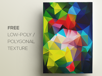 Free Polygonal / Low Poly Background Texture #112