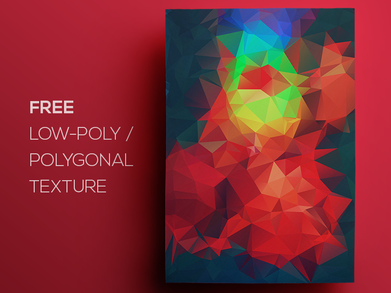 Free Polygonal / Low Poly Background Texture #114
