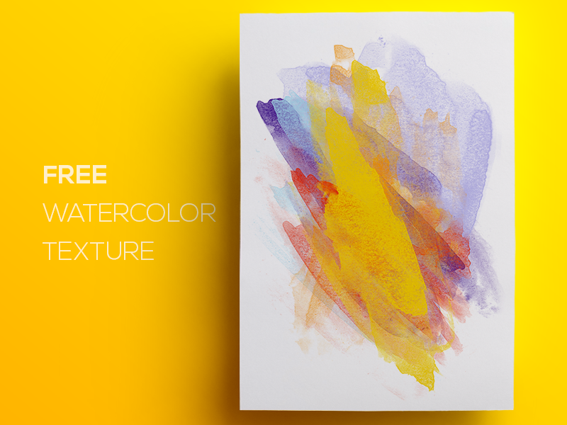Free Watercolor / Paint Background Texture #4 splash smudge grunge splatter texture background flat abstract watercolor paint freebie free