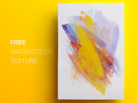 Free Watercolor / Paint Background Texture #4