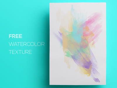 Free Watercolor / Paint Background Texture #5 free freebie paint watercolor abstract flat background texture splatter grunge smudge splash