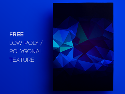 Free Polygonal / Low Poly Background Texture #117 free freebie low poly polygonal flat background texture abstract geometric shape triangle