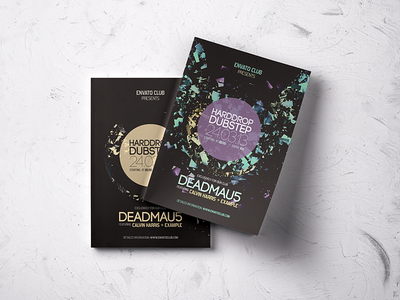 Typography Music / Event / Party Flyers Bundle