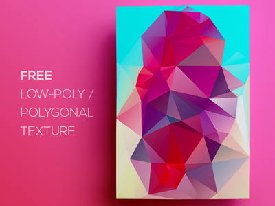 Free Polygonal / Low Poly Background Texture #119