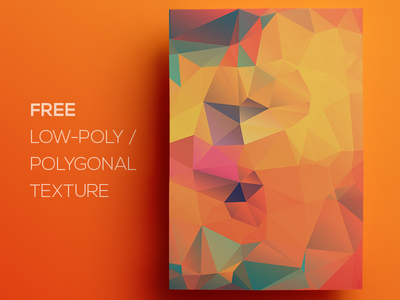 Free Polygonal / Low Poly Background Texture #123