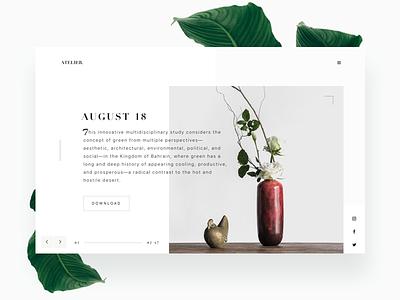 Atelier minimalism atelier emag online magazine