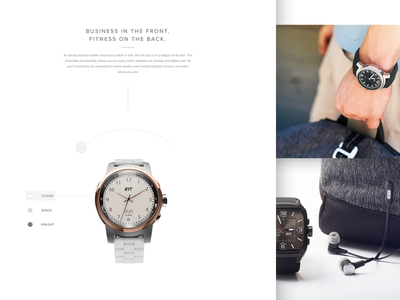 Duo Storyline fashion watch wearable fitness