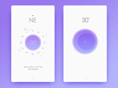 Compass & Level interface rom superposition compass level
