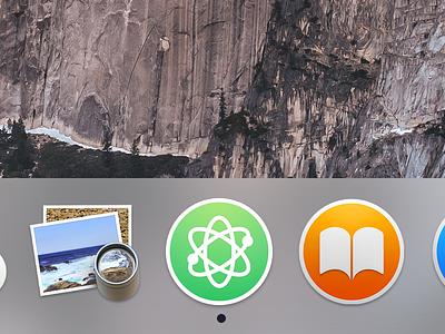 Atom Yosemite Icon atom yosemite icon osx atom text apple