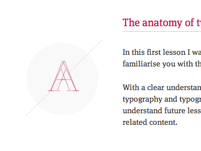 The Anatomy of Type typography design type lessons