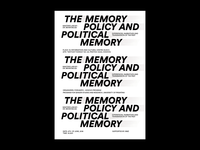 The memory policy and political memory