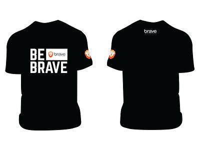 #BeBrave T-Shirt t-shirt brave browser bebrave