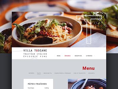 Italian restaurant webdesign webdesign