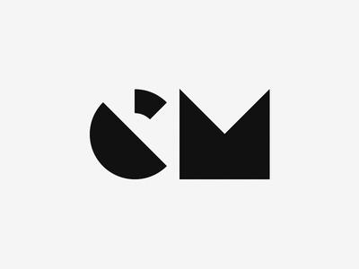Personal Logo 2017 visual identity lettermark initials monogram identity shapes geometric minimal branding logo