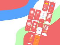 VPN app ui