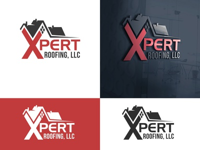 Xpert Roofing Brand Identity