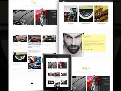 Vesta - A Minimal WordPress Blog Theme